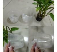 Горшок дренажный для орхидей 11*10,5 прозрачный